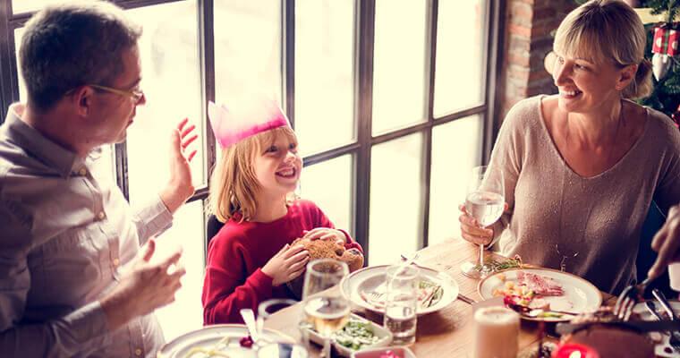 Warum Familienessen so wichtig sind