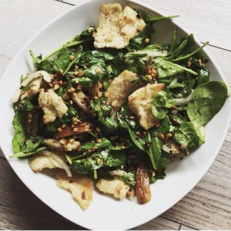 IKK Südwest: Orientalischer Spinatsalat